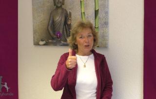 Antje-Hebel beim Online-Coaching